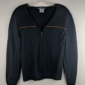 Stan Herman size small JetBlue cardigan